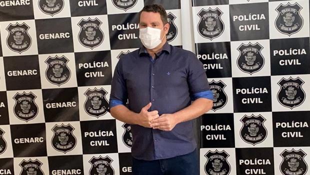 Delegado Marco Antônio Maia se afasta da Polícia Civil para disputar prefeitura de Goianésia