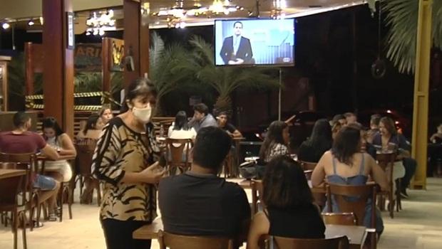 Bares pandemia Goiânia - Foto Reprodução TV Anhanguera