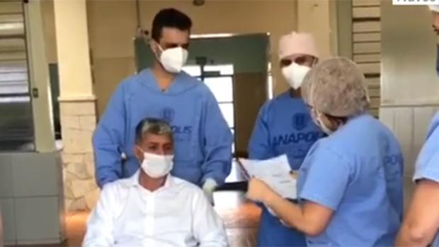 Em Anápolis, 93,6% dos infectados pela Covid-19 já estão recuperados