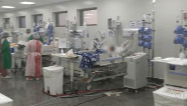 UTIS hospitais goianos Covid-19 - Foto Reprodução TV Globo