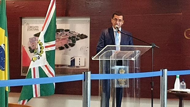 Caiado dá posse a novo presidente do Ipasgo