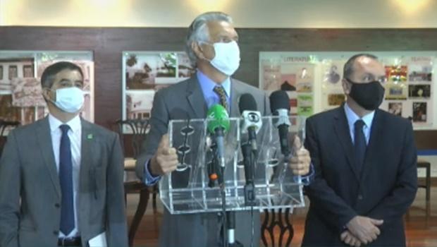 Caiado sanciona projeto de lei que cria a Delegacia de Combate à Corrupção
