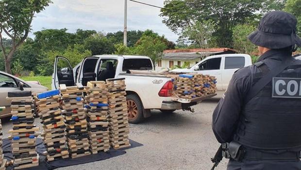 Em 18 meses, polícia retira 81 toneladas de drogas de circulação em Goiás