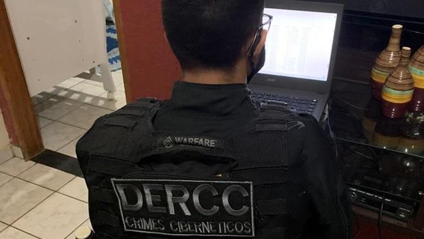 Polícia Civil prende dois homens por posse de material pornográfico infantil em Anápolis