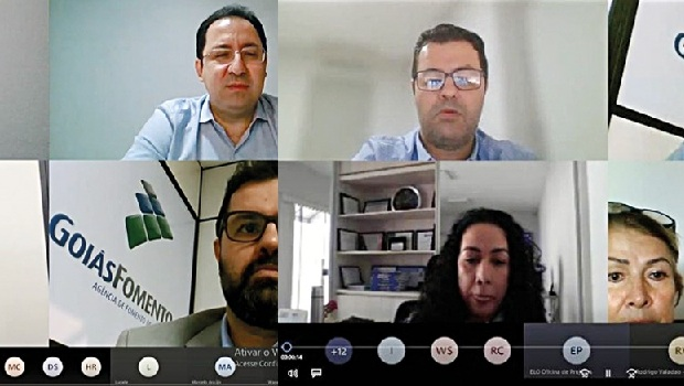 Correspondentes e parceiros da GoiásFomento passam por treinamento virtual