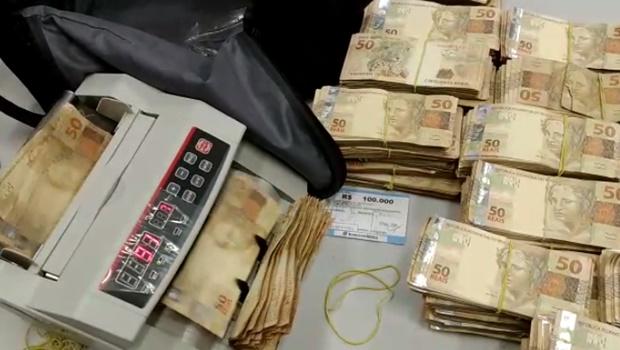 Operação Negociatas apreendeu R$ 500 mil em posse do dono de empresa investigada por fraudes
