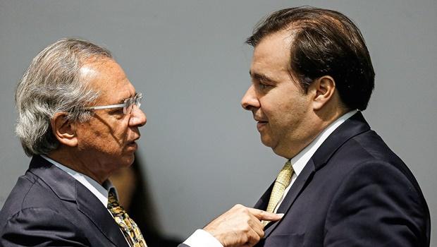 Guedes alega que disputa pela presidência da Câmara paralisou reforma tributária