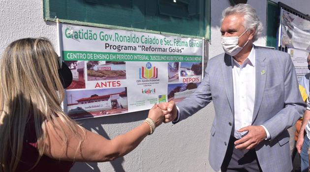 Escolas da região de Morrinhos recebem investimentos para infraestrutura de R$3,5 mi do governo estadual