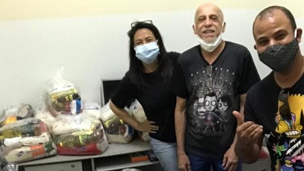 Campanha arrecada cestas básicas para profissionais da cultura que estão com dificuldades na pandemia