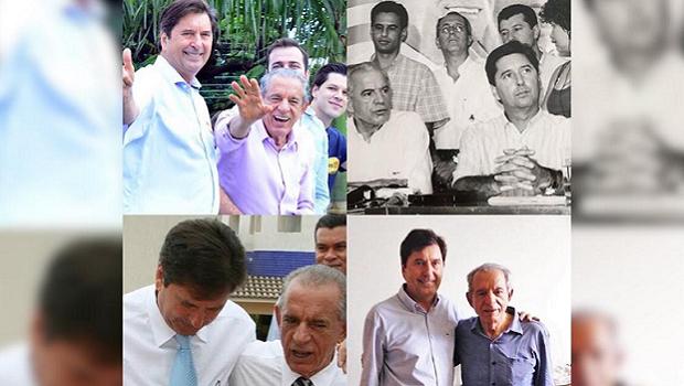 """""""Maior líder político do país"""", diz Maguito sobre prefeito Iris Rezende"""