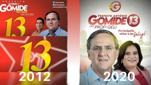 """Dissociação: Na tentativa de se eleger em Anápolis, Gomide """"esconde"""" PT no material de campanha"""