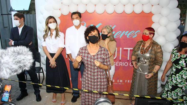 Representantes do MDB mulher se encontram com candidato Maguito Vilela