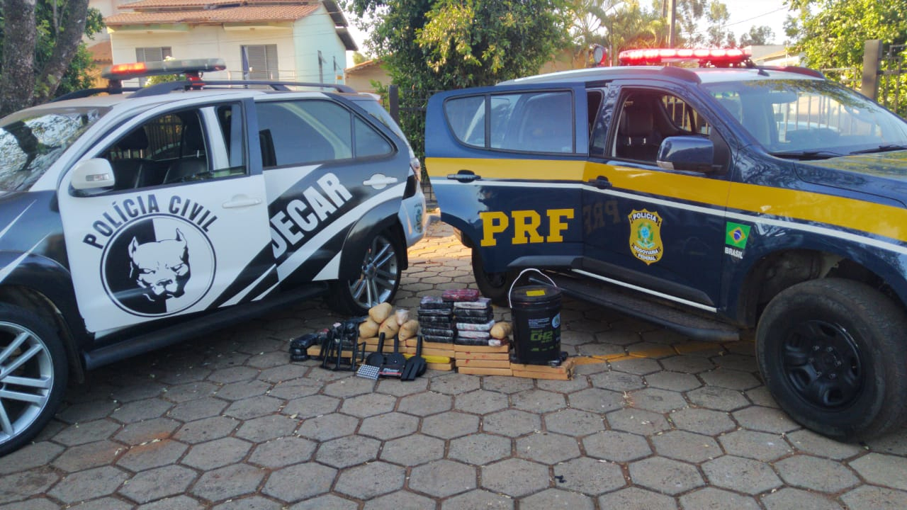 Operação Fim de Pista apreende drogas e munições na BR 060