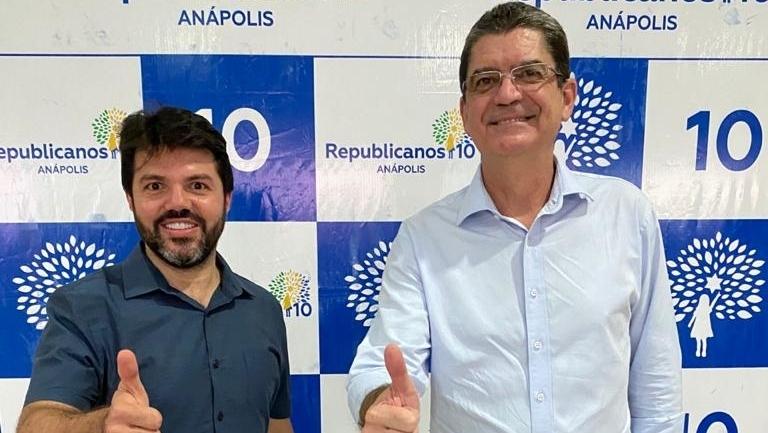 Brigadeiro da Aeronáutica será o vice de Márcio Corrêa em Anápolis. Aliança Republicanos e MDB