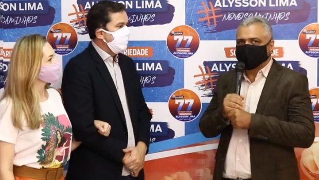 Alysson Lima anuncia coronel José Augusto como pré-candidato a vice-prefeito em sua chapa