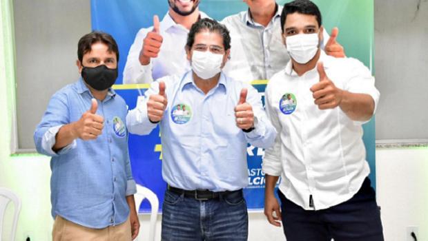 Após sair da disputa para prefeito de Trindade, médico Rogério Taveira declara apoio a Marden Júnior