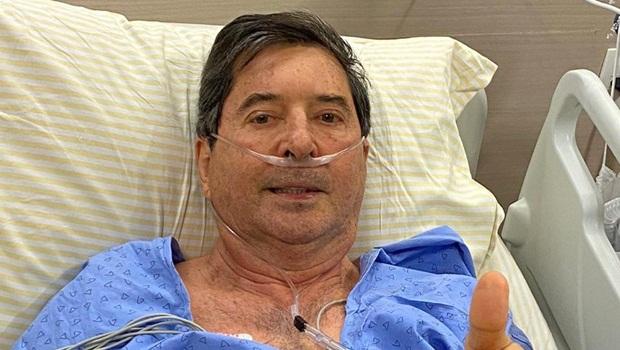 Boletim médico diz que Maguito segue sedado com quadro de saúde estável