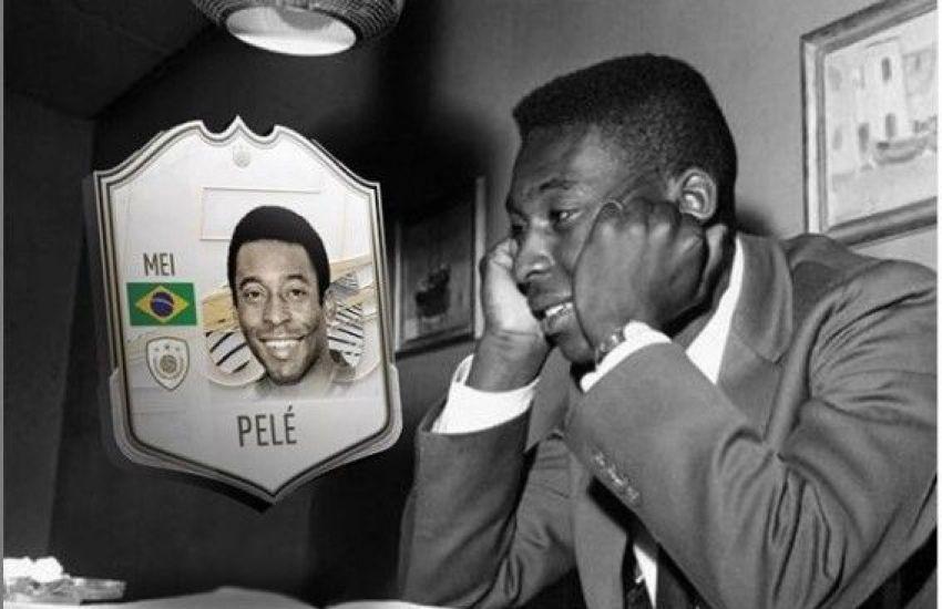 "Pelé, ""em vez de 15 minutos de fama, terá 15 séculos"", disse Andy Warhol"