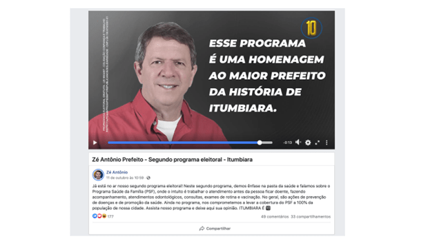 Família de Zé Gomes aciona justiça contra uso de imagem do ex-prefeito assassinado
