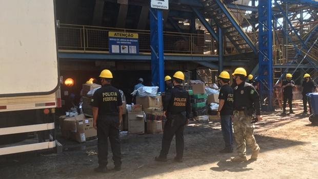 PF incinera 10 toneladas de drogas em Goiás