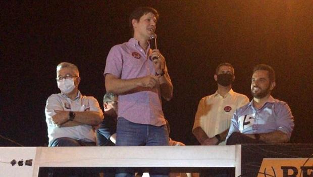 Em Goianésia, Daniel Vilela diz que pode ser vice de Otavinho em 2022