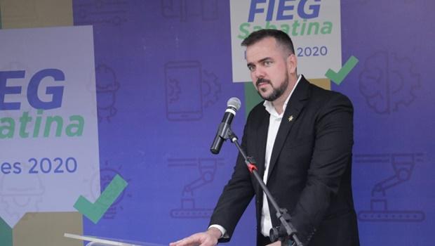 Gustavo Mendanha propõe criação de novo polo industrial em Aparecida