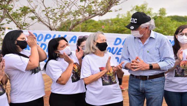 Caiado recebe familiares de empresário rural assassinado em São Miguel do Araguaia