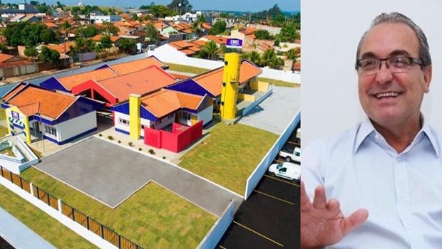 Jânio Darrot inaugura Cmei padrão século 21 em Trindade