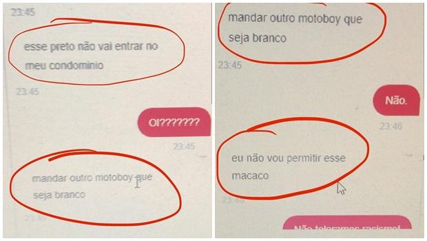 """Hamburgueria denuncia episódio de racismo em Goiânia: """"mandar outro motoboy que seja branco"""""""