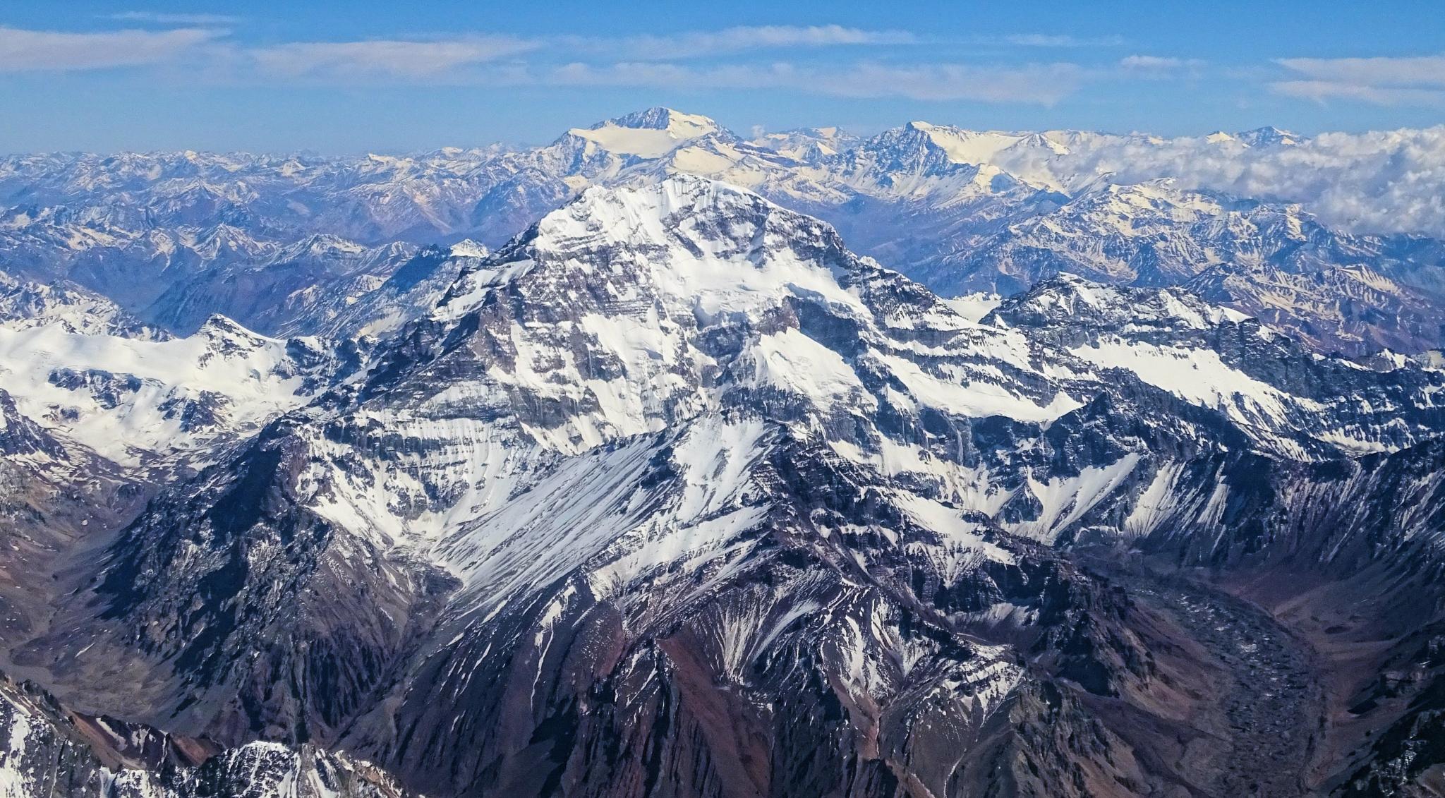 Cordilheira dos Andes, mesmo perdendo pro Everest, deixa outros pontos altos no chinelo