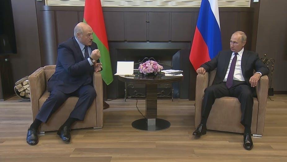 A Bielorrússia enfrenta guerra cibernética