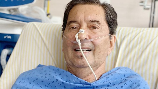 Enfermeira deu a Maguito a notícia de que ele ganhou a eleição