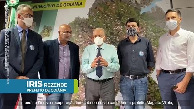 Justiça mantém propaganda de Vanderlan que questiona apoio de Iris a Maguito