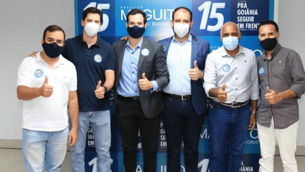 Vereadores do DC declaram apoio a candidatura de Maguito Vilela