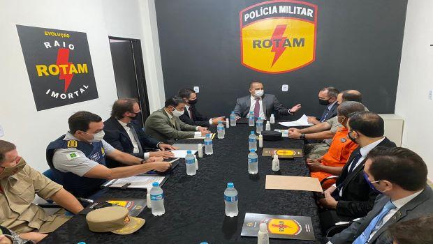 Goiás visa implementar medidas de segurança pública na região do Entorno