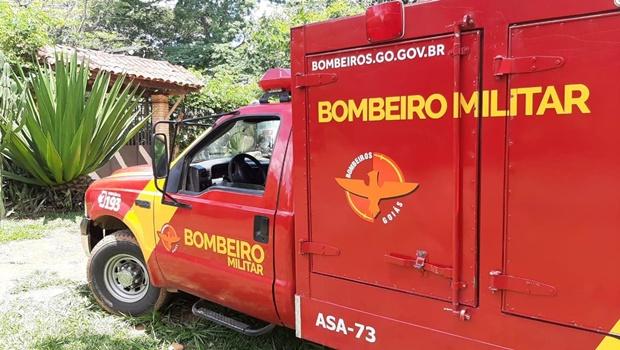 Bombeiros resgatam corpo de recém nascido em córrego de Novo Gama