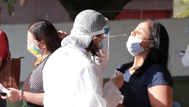 Goiás registra 1.899 novos casos de Covid-19 em dois dias