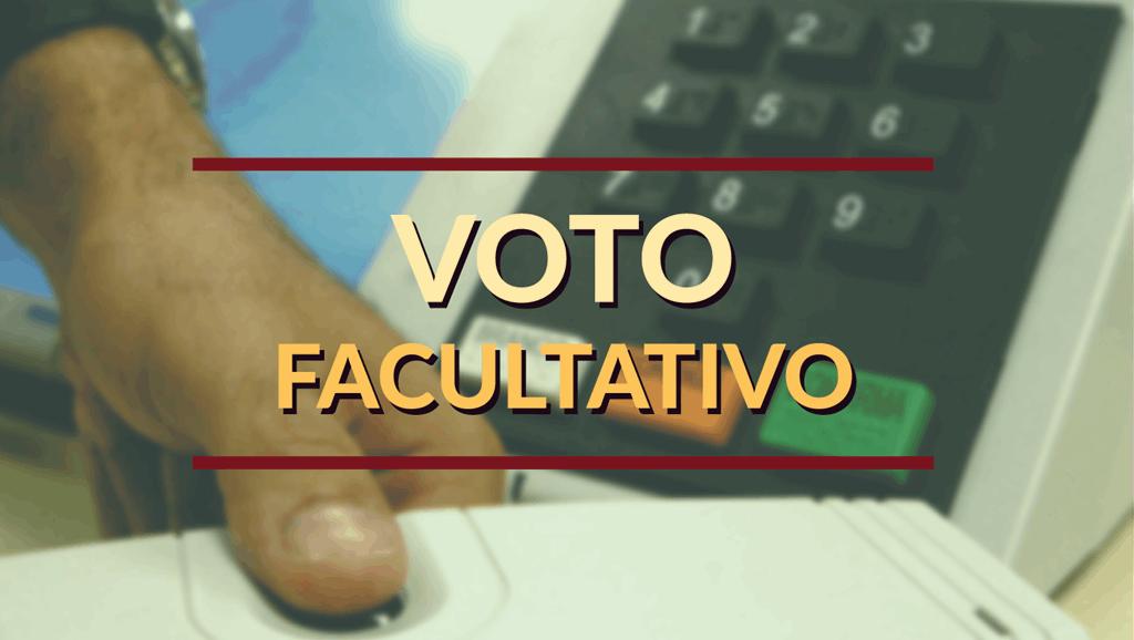 Voto facultativo pode acabar ou pelo menos reduzir a abstenção
