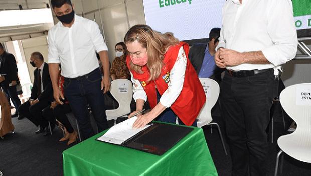 Na segunda fase do programa Equipar, Governo de Goiás destina mais de R$ 164,1 milhões às escolas goianas