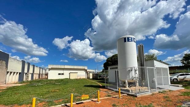 Quatro hospitais públicos no interior de Goiás possuem mais de 21 mil m³ de oxigênio