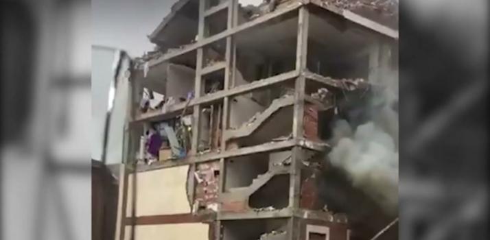 Explosão destrói edifício  e deixa  mortos e feridos no centro de Madri, na Espanha