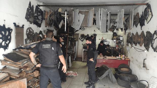 """Polícia Civil divulga balanço de operação """"Sem Divisas"""""""