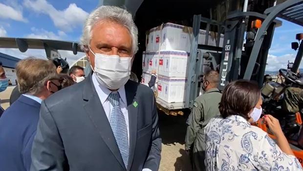 Goiás recebe mais 187,7 mil doses de vacina nesta quinta-feira, 15