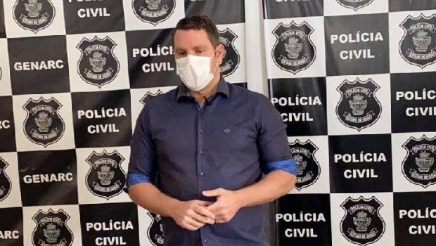 Delegado Marco Antônio se desfilia do PSDB e abandona carreira política