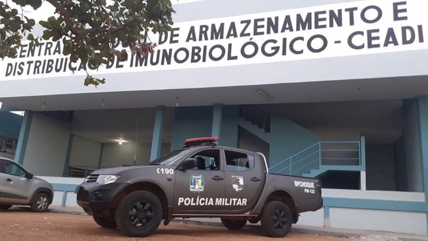 Polícia Militar reforça segurança das vacinas contra a Covid-19