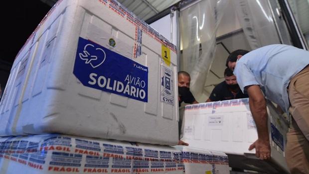 Goiás recebe mais 69,8 mil doses de Coronavac nesta terça-feira, 9