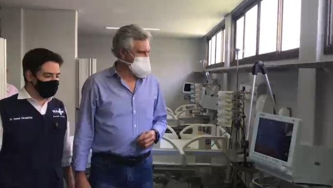 Em Uruaçu, Caiado inaugura Hospital Regional do Centro-Norte