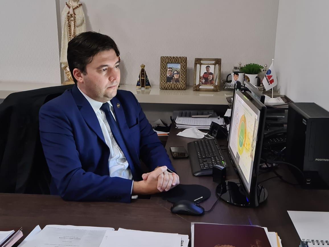 """OAB participa de reunião do movimento """"Unidos pela vacina"""""""