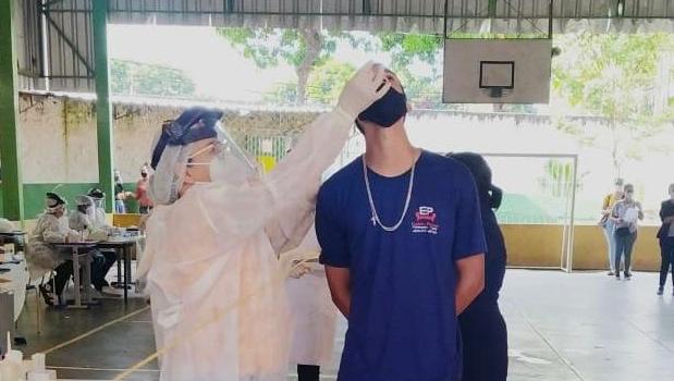 Saúde realiza testagem rápida para Covid-19 nesta quinta-feira, 15, em Goiânia