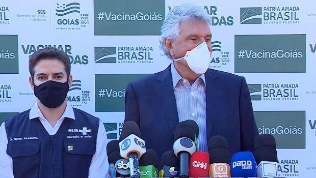 Goiás recebe novas 211 mil doses da vacina contra a Covid-19